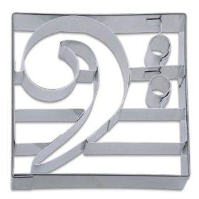 Koekjes Uitsteekvorm: F-Sleutel