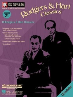Jazz Play Along: Volume 21 - Rodgers And Hart Classics