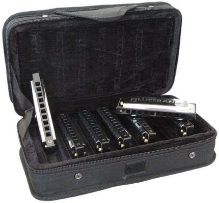 Hohner Blues Harmonica Set 7-delig