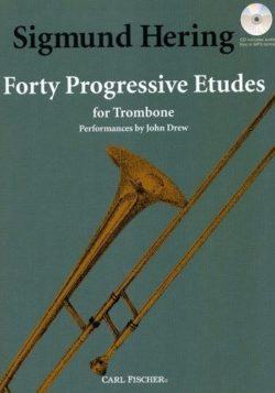 Sigmund Hering; 40 Progressive Etudes for Trombone