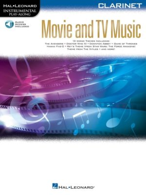 Movie and TV Music for Clarinet