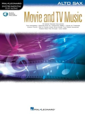 Movie and TV Music for Alto Sax
