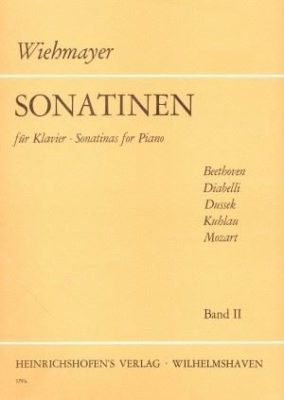 Wiehmayer: Sonatinen, Band II