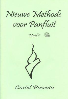 Nieuwe Methode voor Panfluit 1 (+CD)