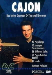 Cajon; The small Drumset/ Das Kleine Drumset DVD
