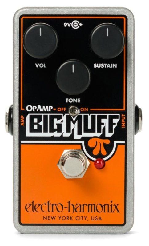 Electro Harmonix Big Muff OpAmp Pi
