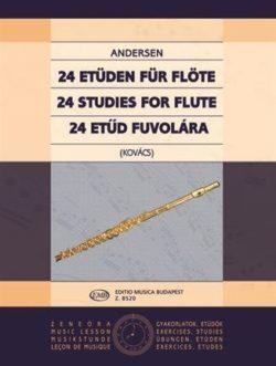 24 Etüden für Flöte op. 15
