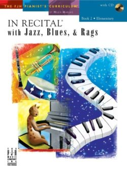 In Recital With Jazz, Blues And Rags - Book Two