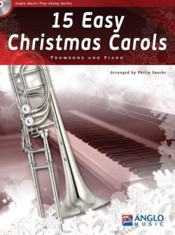 15 Easy Christmas Carols (Trombone and Piano)