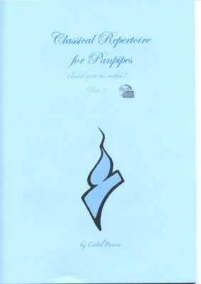 Classical Repertoire for panpipes 2 (+CD)