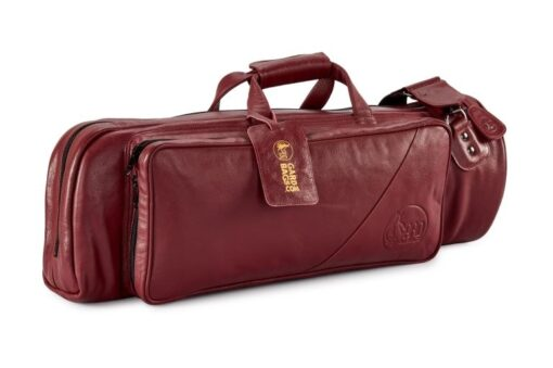 Gard 1 Single Trumpet Leather Red