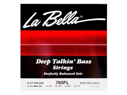 La Bella 760FL Flat Wound