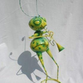 Mier met Trompet Groen