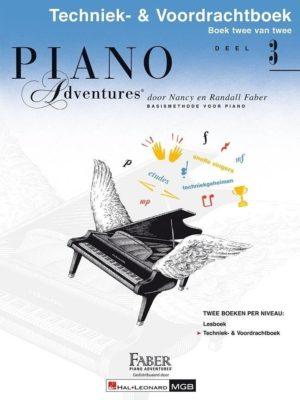 Piano Adventures: Techniek & Voordrachtboek bij Deel 3 (NL)