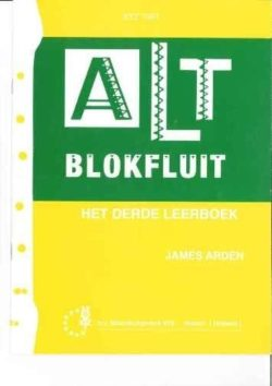 Altblokfluit 3 James Arden