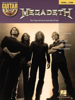 Guitar Play-Along Volume 129: Megadeth