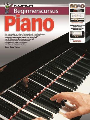 Beginnerscursus Piano (Boek + CD + 2DVD + DVD-ROM)