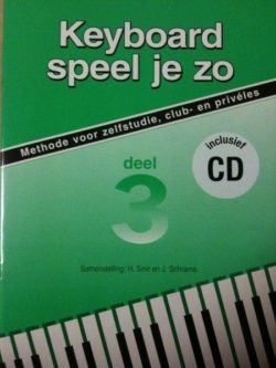 Keyboard Speel Je Zo 3 (+CD)