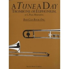 A Tune A Day for Trombone Or Euphonium(TC), BK 1