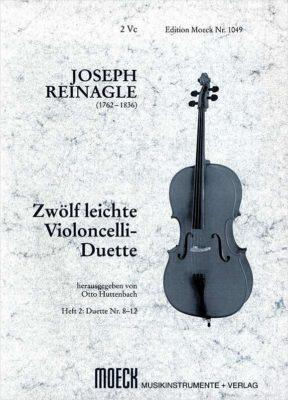 Joseph Reinagle; 12 Leichte Violoncelli Duette, Heft 2 (8-12)