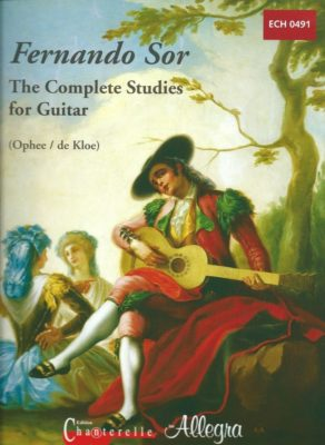 Fernando Sor; The Complete Studies for Guitar