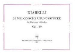 Diabelli: 28 Melodische Ubungsstucke Op.149