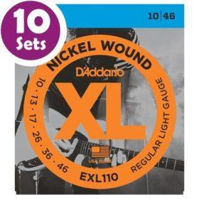 D'addario EXL110 10 Pack