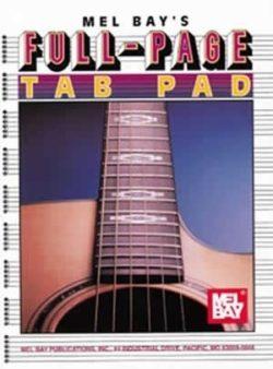 Full-Page TAB PAD (Muziekpapier)
