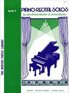 Bastien; Piano Recital Solos, level 3