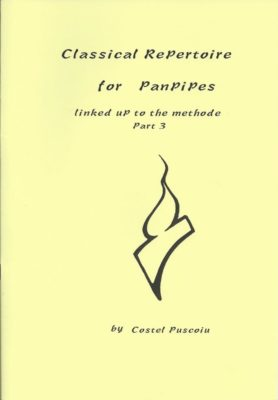 Classical Repertoire For Panpipes 3