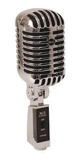 NJS 290 Retro Style Microphone