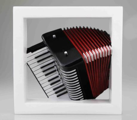Accordeon Wall Art 4D Model