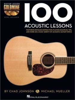 100 Acoustic Lessons (+Audio Access)