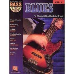 Bass Play-Along, Volume 9: Blues