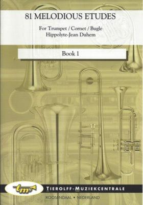 Duhem; 81 Melodious Etudes, Book 1