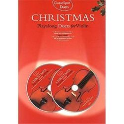 Guest Spot; Christmas Playalong Duets for Violin