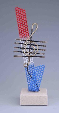 Bipem G-Sleutel Nederland Muziek Trofee