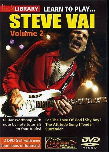 Learn To Play Steve Vai Vol. 2