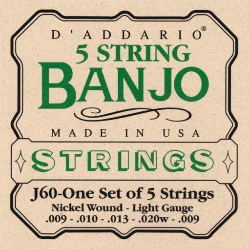 D'addario EJ60 5 String