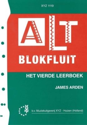 Altblokfluit 4 James Arden