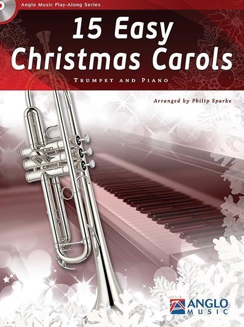 15 Easy Christmas Carols (Trumpet and Piano)