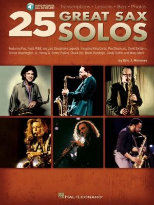 25 Great Sax Solos (+ Audio online)