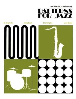 Patterns For Jazz, Treble Clef Instruments