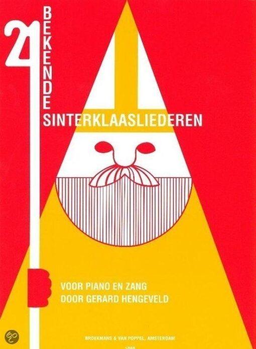 21 Bekende Sinterklaasliederen (Piano en Zang)