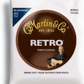 Martin MTR13 Tony Rice Signature Monel 13 - 56
