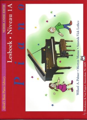Alfred's Basic Piano Library, Lesboek Niveau 1A (+CD)