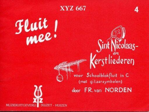 Fluit Mee ! Sint Nicolaas en Kerstliederen