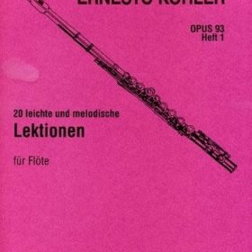 Ernesto Köhler 20 Leichte Und Melodische Lektionen
