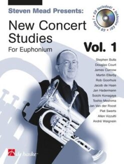 Steven Mead: New Concert Studies for Euphonium TC, Volume 1