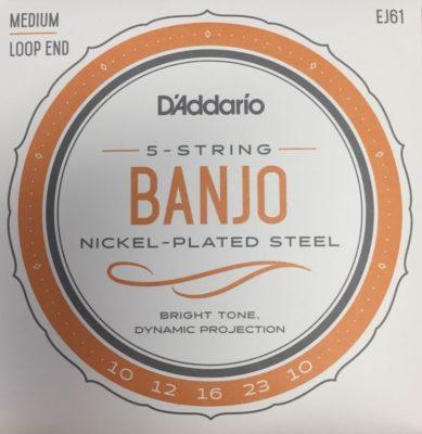 D'addario EJ61 5 STRING BANJO